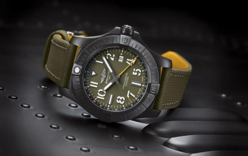 The 45mm fake watch is designed for men.
